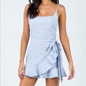 Light blue dress, USA 8/AUS 12